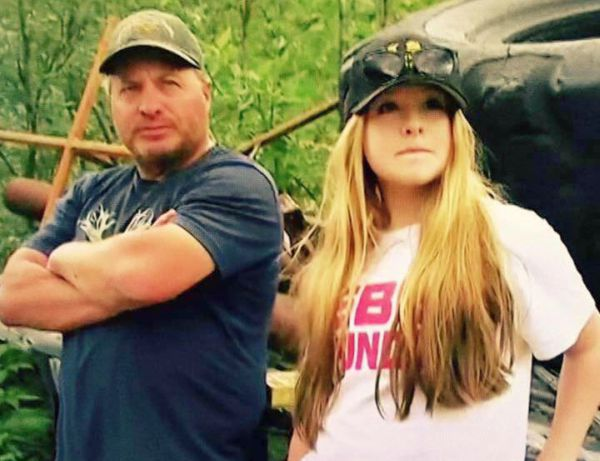 Freddie Dodge with his daughter Nikki Dodge