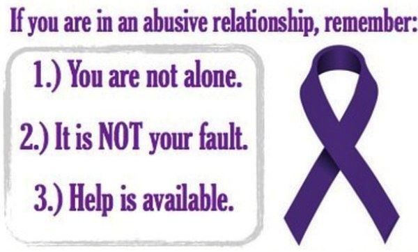 Kate Bassic in support of women facing abusive relationship