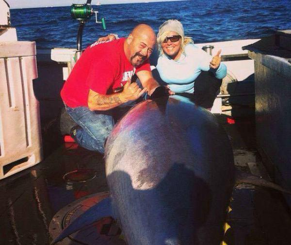 Dave Marciano with big tuna