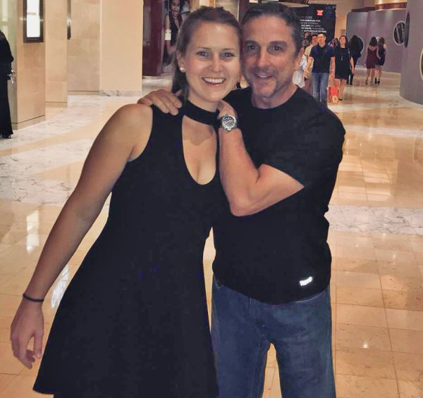 Dave Carraro and his girlfriend Jess Boardway