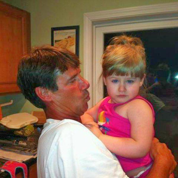 Paul hebert with his daughter Ashley Hebert