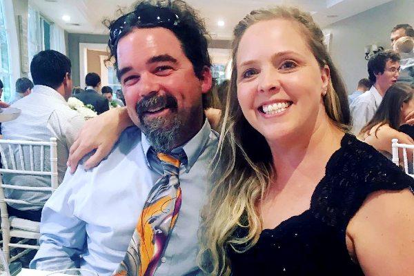 Ashley Morrill Eldrige with her husband Ryan Eldridge