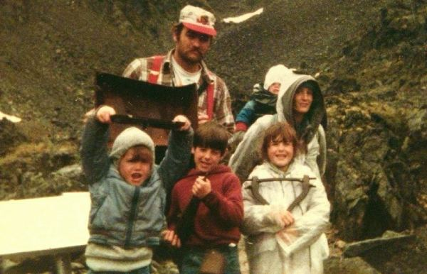 Marty Raney and his wife raising four kids in Alaska