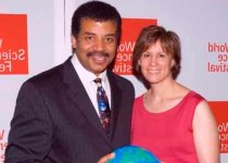 Neil deGrasse Tyson wife Alice Young