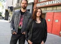 Paranormal Lockdown co-stars Nick Groff and Katrina Weidman