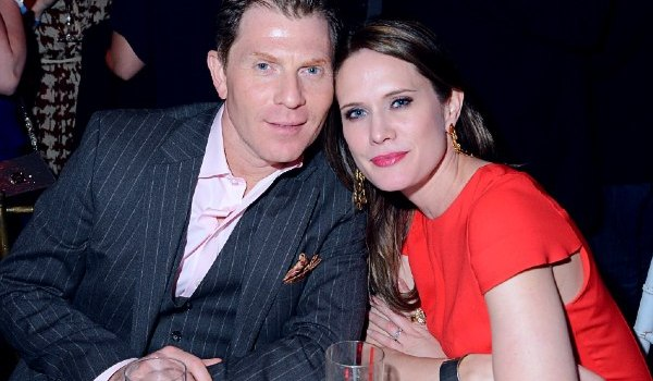 Kate Connelly with her ex-husband Bobby Flay.