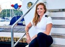 Captain Rhylee Gerber from Below Deck Mediterranean.