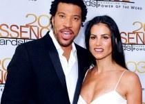Diane Alexander with her ex-husband Lionel Richie.