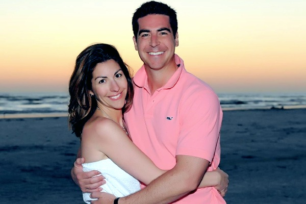 Noelle Watters with her ex-husband Jesse Watters.