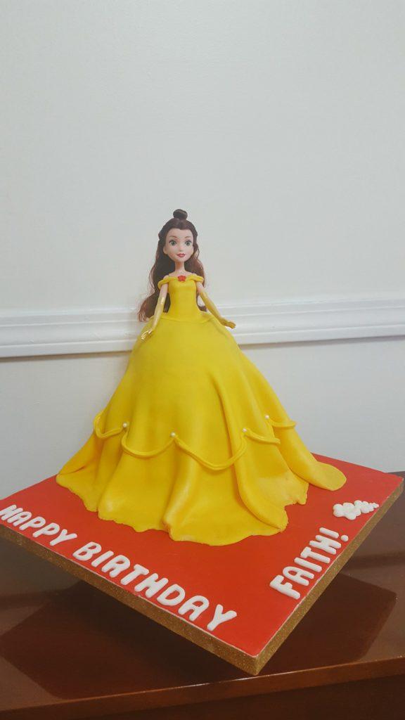 Belle Princess Cake