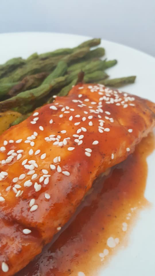 Root Beer Barbecue Salmon