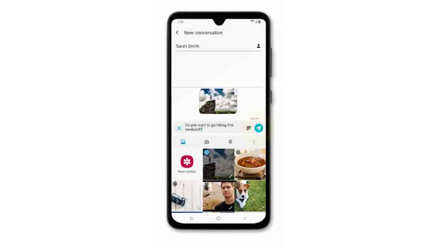 Samsung Galaxy A50 can't send MMS or picture message. Here