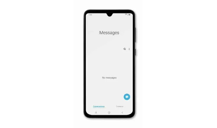 Samsung Galaxy A50 can't send or receive text messages