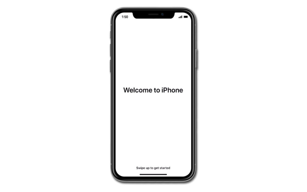 Setting up an Apple iPhone 11 manually as a new device
