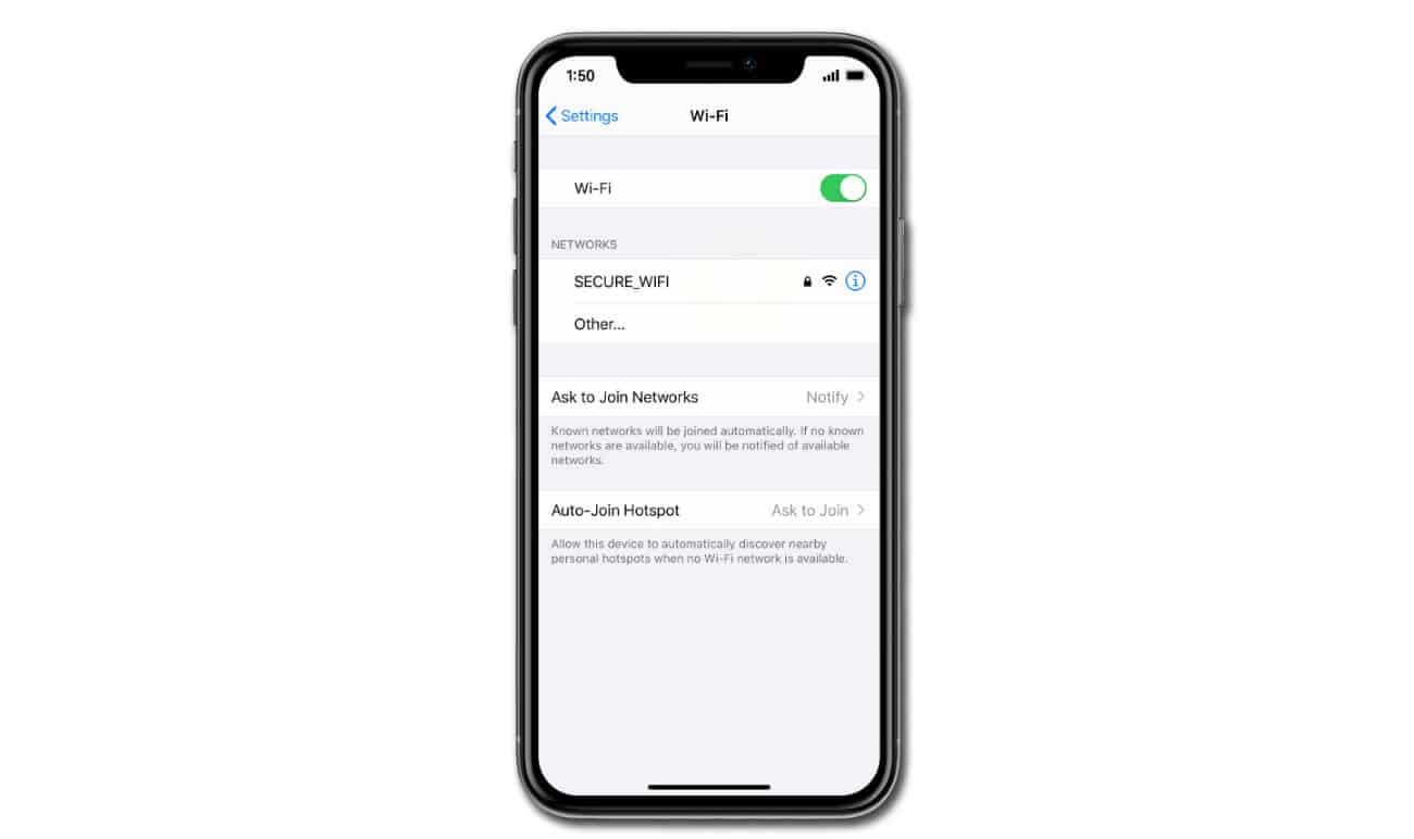 Apple iPhone XR keeps losing WiFi signal after iOS 13