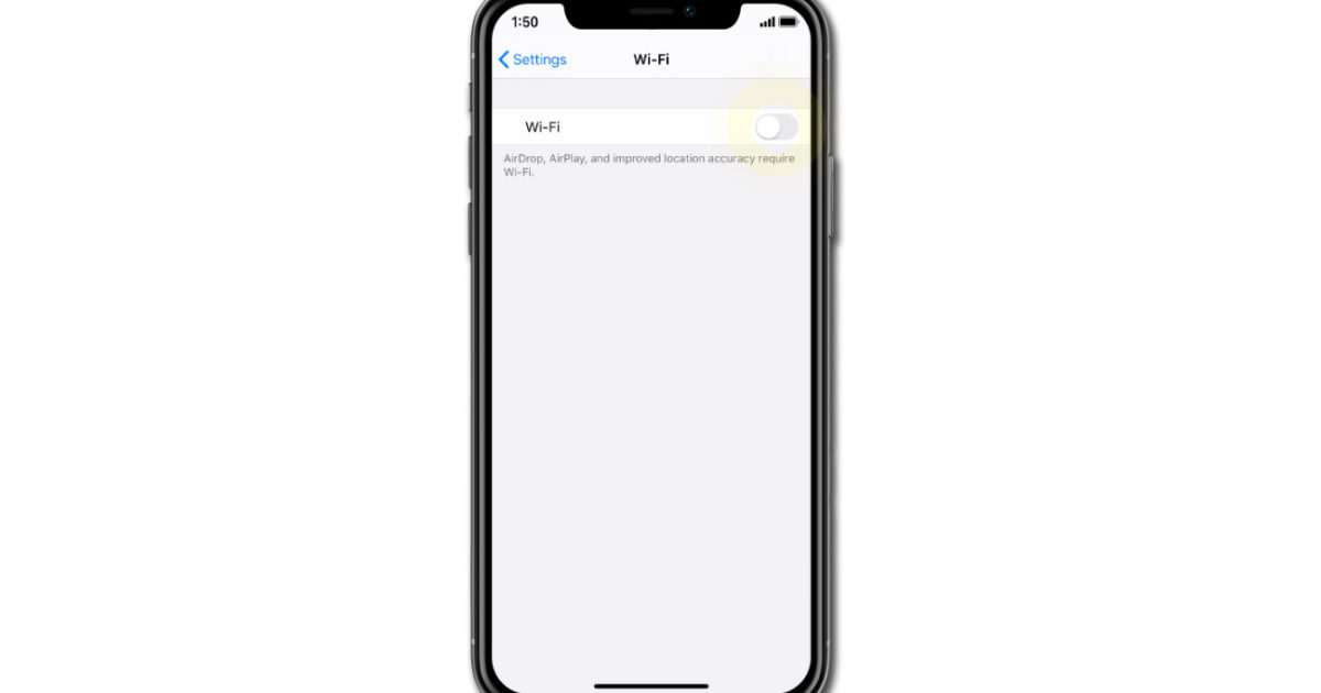 Fix iPhone XS Max that keeps disconnecting from WiFi after