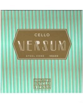 Струны для виолончели THOMASTIK Versum VE400 описание и цены