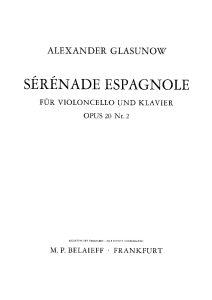 Glazunov A. - Serenade Espagnole, op.20