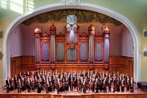 5 октября. Первый концерт Государственного Академического Симфонического Оркестра СССР.
