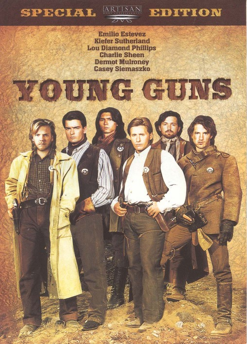 REVIEW Young Guns 1988 Christopher Cain Emilio