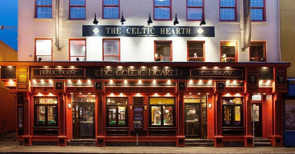 The Celtic Hearth on 300 Water St.