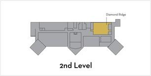 Diamond Ridge room on 2nd level