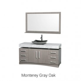 Monterey Gray Oak | Available Sizes: 60""