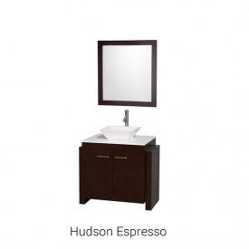"Hudson Espresso | Available Sizes: 36"" (by Special Order Only)."