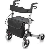 Best rollator walker with seat