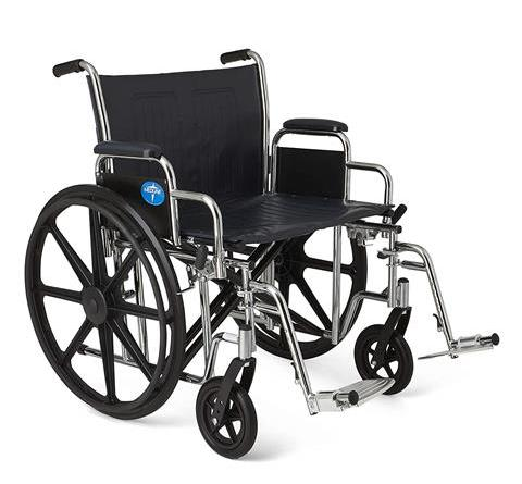 Medline Excel Extra-Wide Wheelchair
