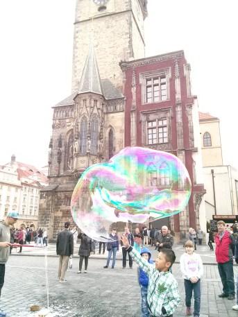 Prague bubbles!