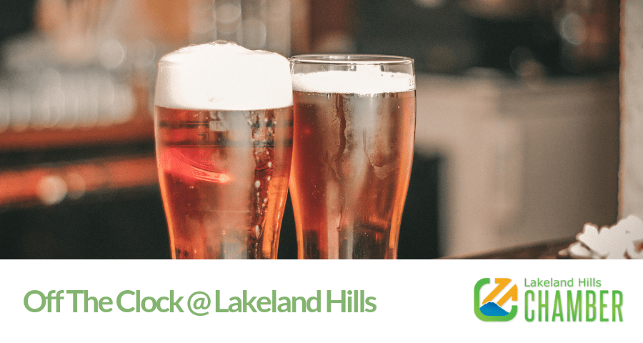 Off The Clock Networking at Lakeland Hills