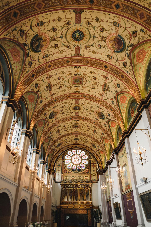 The Chapel at De Vere Beaumont Estate - The Chamberlins Wedding Photography - Alternative London Wedding Photographers