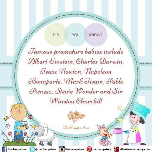 Did You Know Facts - Preterm baby