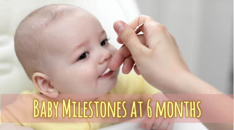 Baby Milestones at 6 months 05