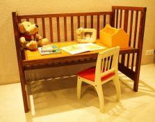 Wooden cot design 04