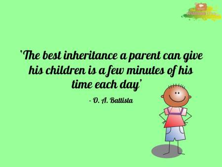 Motivational quotes on positive parenting 02