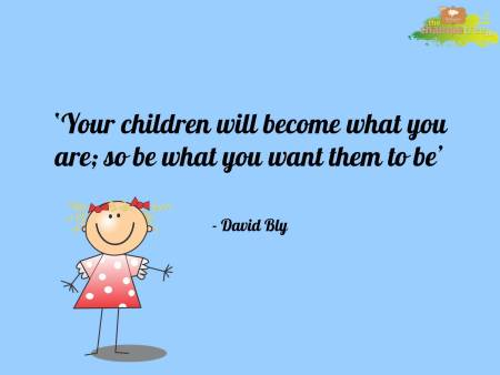 Motivational quotes on positive parenting 03