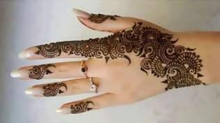 Karwachauth mehndi designs 04