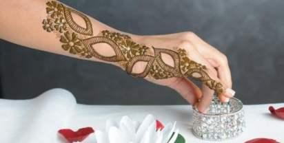 Karwachauth mehndi designs 15