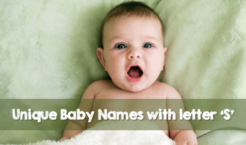 30 Unique Baby Names Starting With S (2020 Updated List)