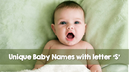 Top 30 Baby Names Starting With S (2020 Updated List)