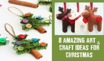 8 Awesome Christmas art and craft ideas for kids
