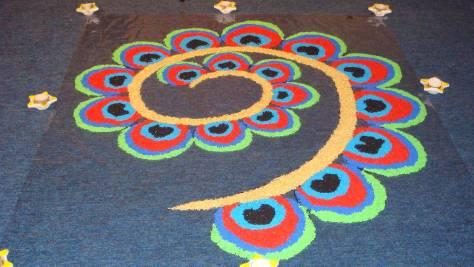 Diwali rangoli designs 02