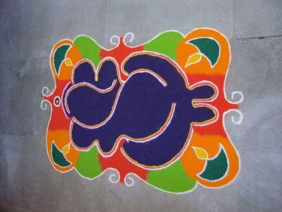 Diwali rangoli designs 03