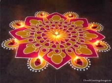Diwali rangoli designs 14