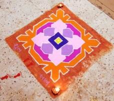 Diwali rangoli designs 15