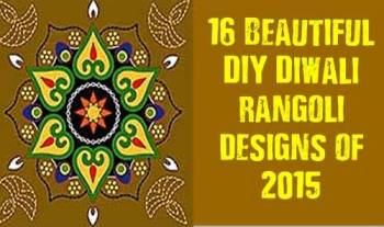 16 Beautiful DIY Diwali Rangoli Designs Of 2015