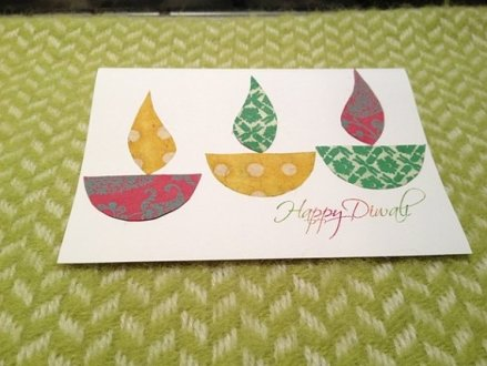 diy Diwali greeting cards 01