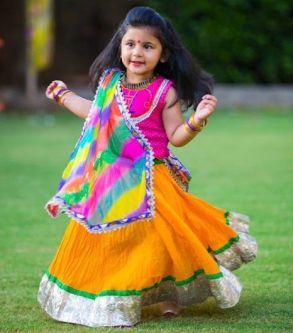 Kids Navratri dressing 03